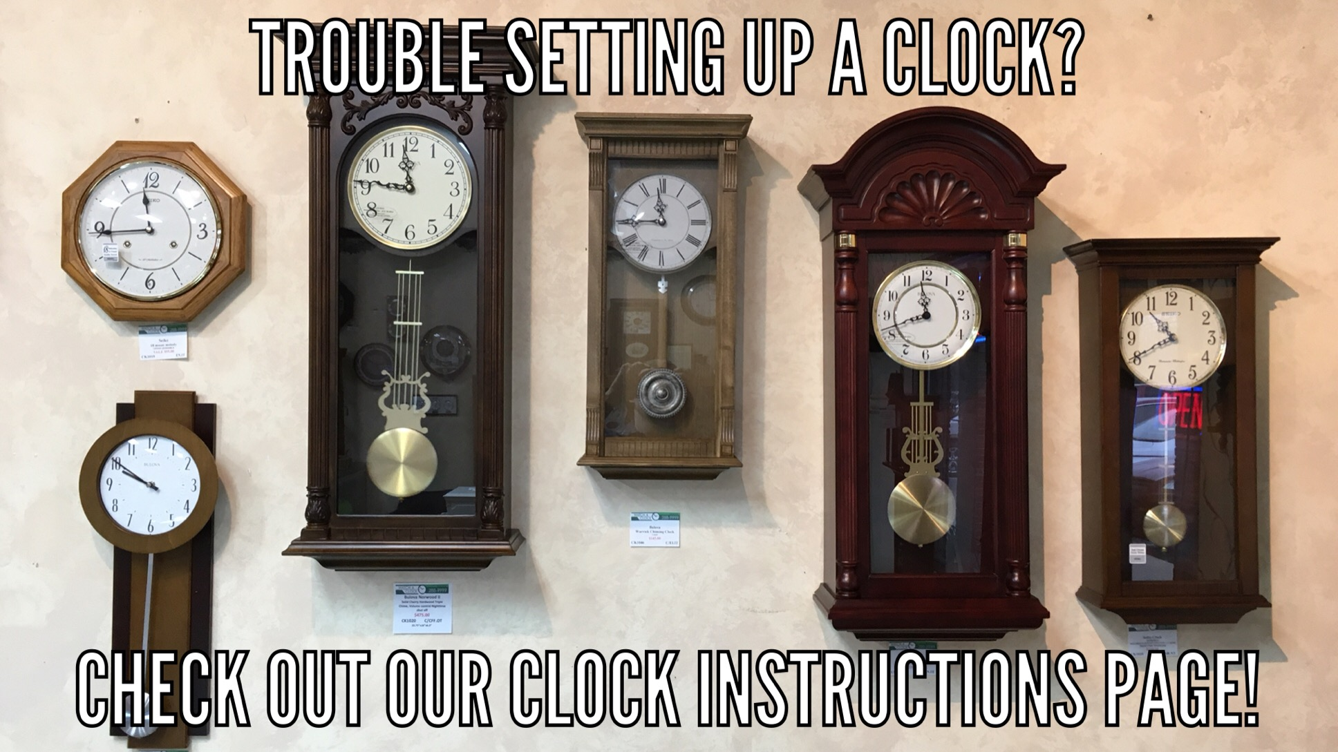 Clock Instructions