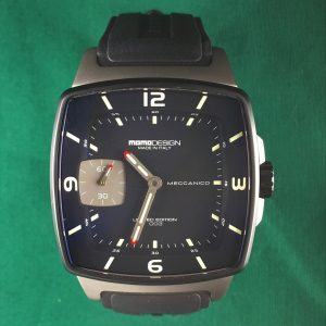 Momo Design Meccanico watch black dial automatic