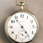 Waltham Crescent Street 18 Size 21 Jewel Custom Expedition Back Pocket Watch