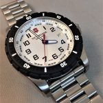White Victorinox Swiss Army